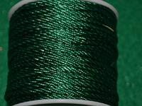 Капроновый шнур 3 мм  тёмно-зелёный  20170