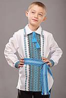 Вышиванки для детей с воротником