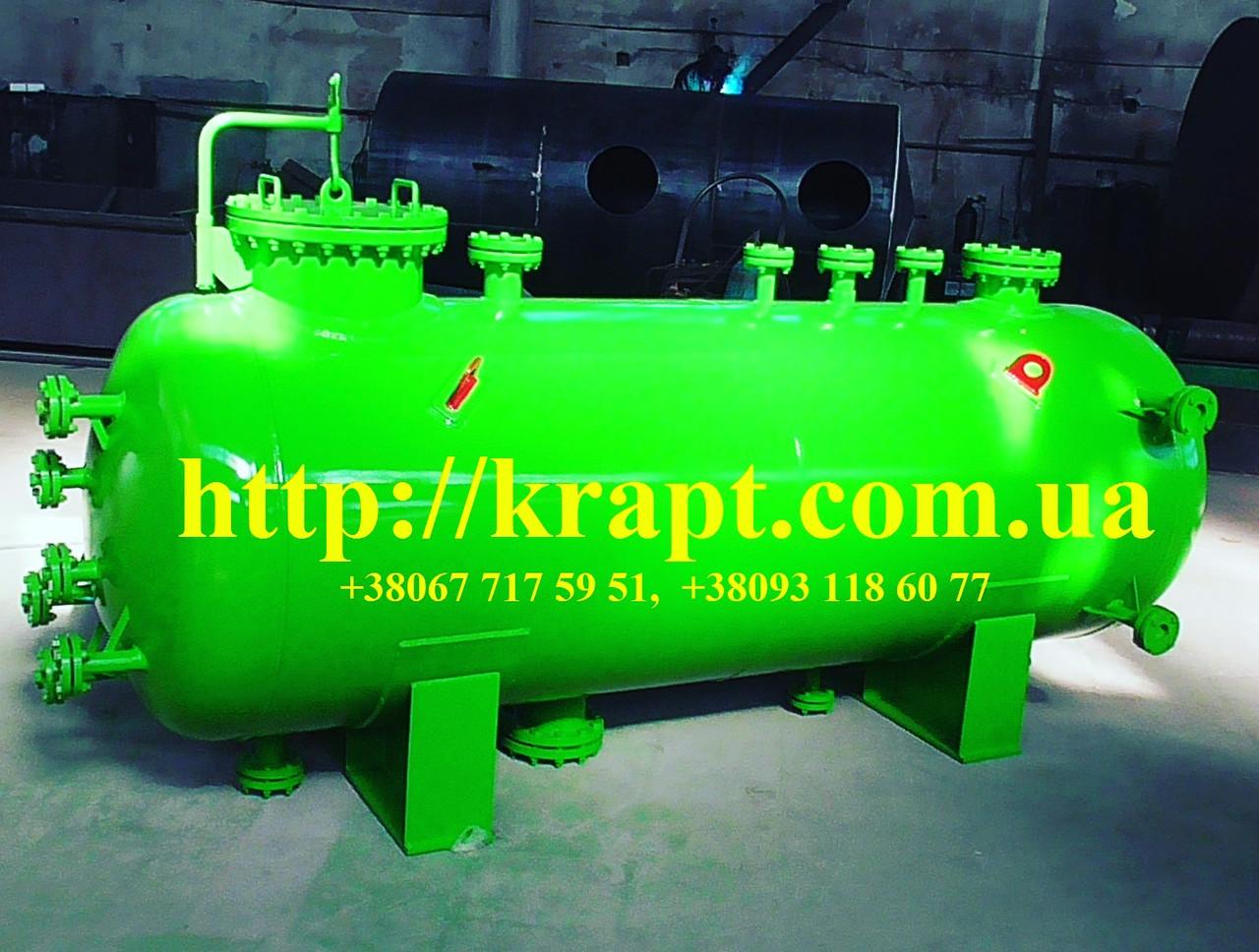 Резервуар, Емкость, Бак V=4м3 - КРАПТ  компания производитель- емкостное, резервуарное, теплообменное оборудование  в Житомирской области
