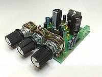 УНЧ на TDA7377 2x30 Вт с регуляторами громкости и тембра