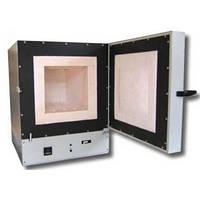 Камерные электропечи SNOL 80/1100 L – нагреватели впрессованы в волокно, микропроцессорный терморегулятор