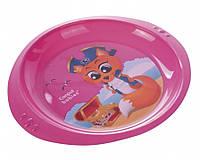 Детская тарелка пластиковая Пираты Canpol Babies (4/406)