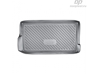 Коврик в багажник Daewoo Matiz HB (05-) полиур. (NORPLAST)