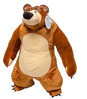 Медведь Мим 45см №1, М14-9 коричневый (большие мягкие игрушки)