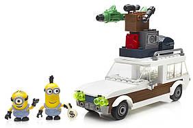 Mega Bloks Гадкий я  Автомобиль миньонов Minions Station Wagon Getaway CNF56