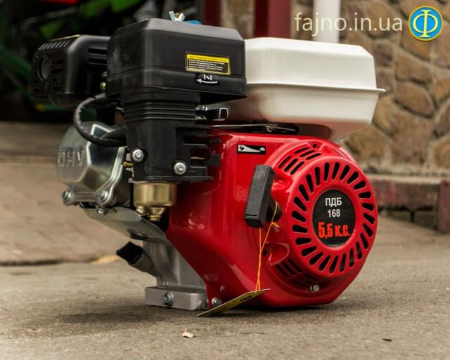 Двигатель бензиновый 5,5 л.с. Победит ПБД-168