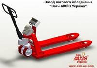Промышленные складские весы-рокла Р-В гидравлические c принтером АКСИС