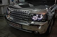 Range Rover (оклейка пленкой под хром)
