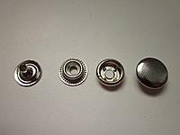 Кнопка каппа 15мм никель