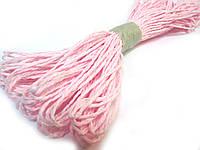 Шпагат бумажный (розовый)