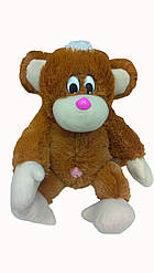 Мягкая игрушка: Обезьянка 55 см, Коричневая