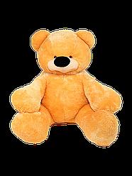 Большая мягкая игрушка: Плюшевый Медведь Бублик, 200 см, Медовый