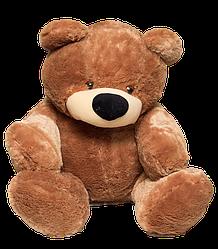 Большая мягкая игрушка: Плюшевый Медведь Бублик, 200 см, Коричневый