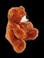 Мягкий Плюшевый Медведь Бублик 110см №3 Б1-23  Коричневый(мишка игрушка)