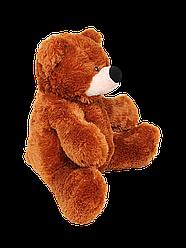 Мягкая игрушка: Плюшевый медведь Бубулик, 110 см, Коричневый