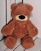 Плюшевый медведь Бублик 43 см №0, Б1-8 коричневый (мишка игрушка)