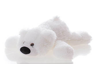 Мягкая игрушка: Плюшевый медведь Умка, 45 см, Белый
