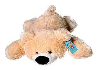Мягкая игрушка: Плюшевый медведь Умка, 55 см, Персиковый