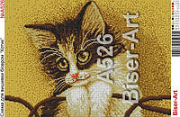 "Схема картини ""Кіт""№А526"