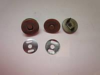 Кнопка - магнит 18 х 4 мм антик