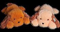 Мягкая игрушка Собака Тузик 53 см №1, Т3-11 Персиковый(игрушка щенок)