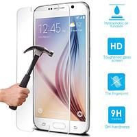 Бронированная защитная пленка (стекло) для Samsung Galaxy S6 (G920), 0,33 mm Глянцевая /накладка/наклейка /самсунг галакси/Защитное стекло/закаленное