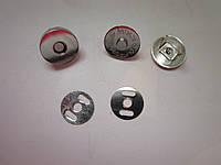 Кнопка - магнит 18 х 4 мм никель