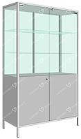 Шкаф медицинский двустровчатый с сейфом ШМ-2С