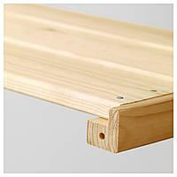 IKEA HEJNE Полка, хвойное дерево : 00287808, 002.878.08