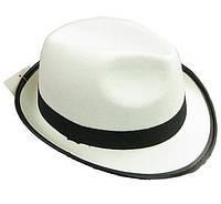 Шляпа Джентельмена детская белая