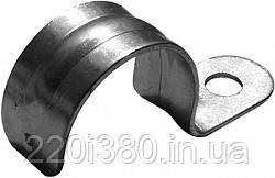 Клипса e.met.clips.stand.18.1s для металорукава 18мм, одностороняя