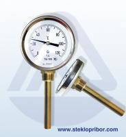Термометр биметаллический ТБ-100 стандарт, L160 (0…+600)