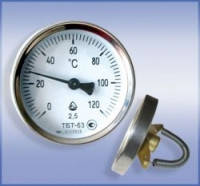 Термометр биметаллический трубный ТБТ-63 ( 0…+150)