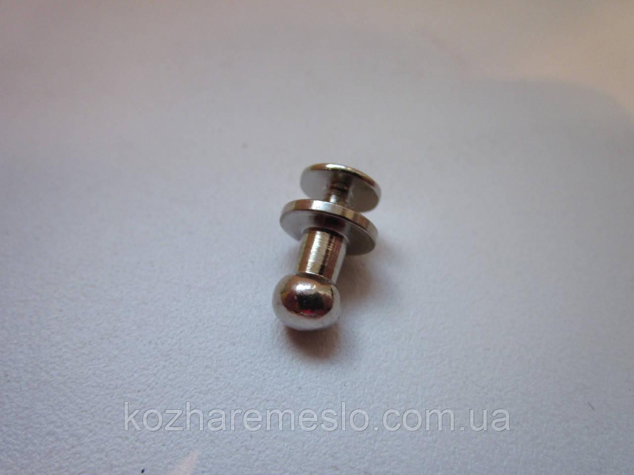 Винт кобурной 6 х 10 мм никель