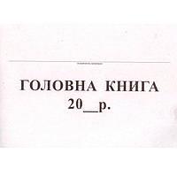 Бухгалтерские книги * 48л А4 Главная книга бюджетная 48л, офсет
