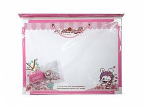 Доски детские для рисования Deli 7802 30х40 на шнурке цветн рамка