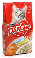 Darling (Дарлинг) сухой корм для взрослых кошек С курицей и овощами 10 кг