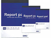 Блокноты в мягких обложках Deli 7712 белые листы А5 70л склейка, белые листы