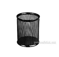 Подставка для ручек круглая металлическая Axent 2110-01-A