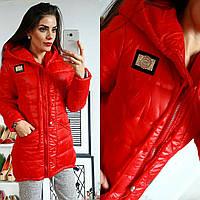 Куртка-парка зимняя, модель  204, мята 48