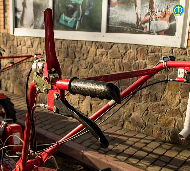 Мотоблок дизельный Победит 2012Д фото 7