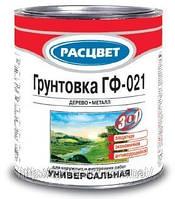 Грунтовка ГФ-021 Расцвет «3 в 1» по ржавчине