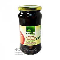 Оливки черные органические Campomar Nature 350г