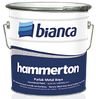 Молотковая краска Хаммертон 0,75л Hammerton Bianca