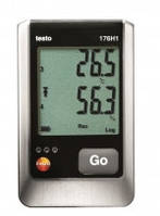 Testo 176 H1 регистратор влажности и температуры двумя зондами
