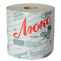 Туалетная бумага Люкс на гильзе