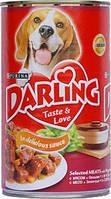 Darling (Дарлинг) консерва для собак С мясом и печенью 1.2 кг