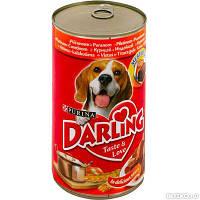 Darling (Дарлинг) консерва для собак С курицей и индейкой 1.2 кг