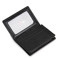 Визитницы Deli 7625 черный Card Holder 105х78х18 кожзам