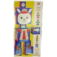 Развивающая игрушка Djeco Тотем-кубики Ригало (DJ09110)